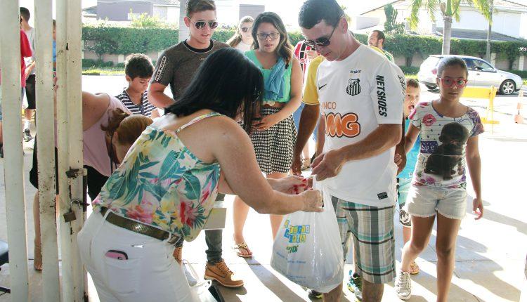 Fundo Social agradece solidariedade de torcedores no amistoso entre Jaguariúna e Santos