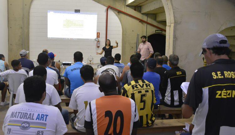 Campeonato Amador de futebol começa dia 31 e terá final no estádio Municipal