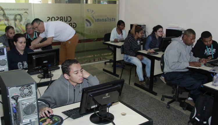 Parceria entre Prefeitura e Instituto Stefanini oferece cursos profissionalizantes gratuitos
