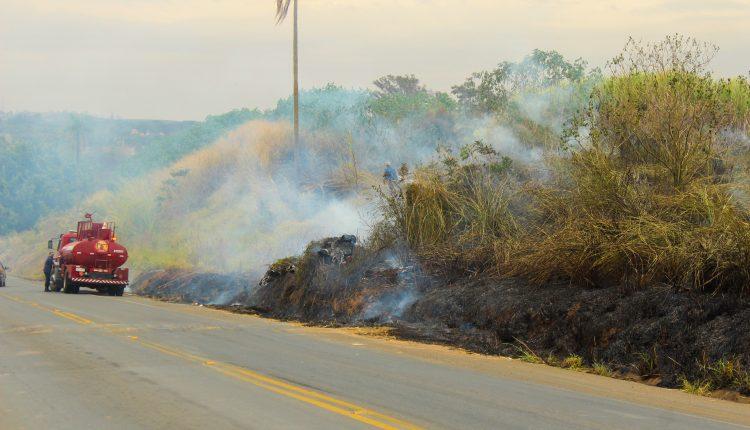 Defesa Civil de Jaguariúna alerta para baixa umidade do ar e aumento de queimadas
