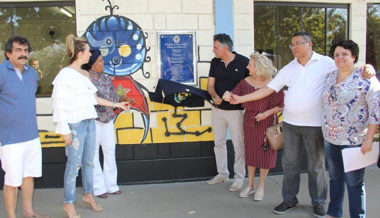 Prefeitura inaugura projeto Cola Aqui