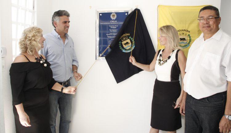 Prefeitura inaugura o CRAS no Cruzeiro do Sul e o CREAS no Berlim