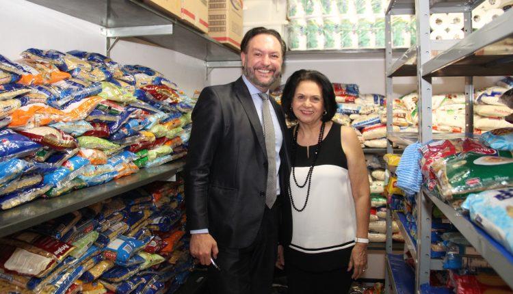 Fundo Social de Solidariedade de Jaguariúna recebe meia tonelada de alimentos arrecadados pela UniFAJ