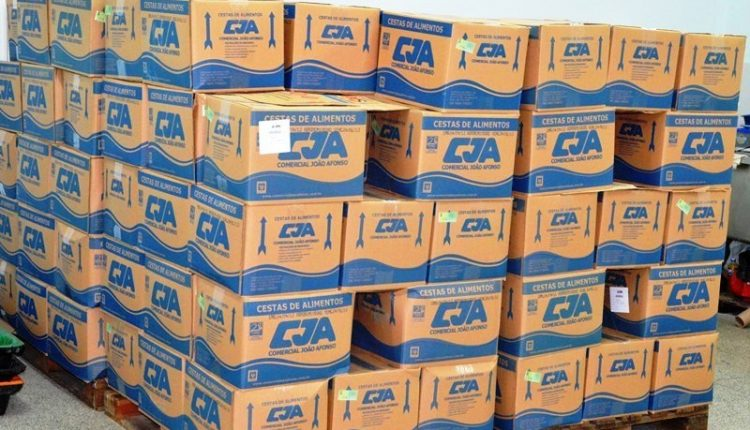 Confira aqui o período de entrega das cestas básicas de janeiro