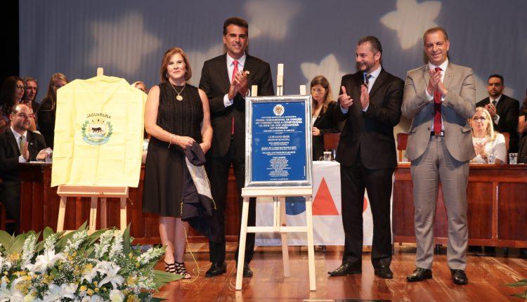 Prefeitura e OAB inauguram pedra fundamental da casa do advogado de Jaguariúna