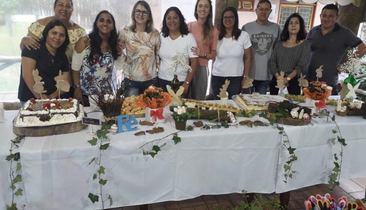Prefeitura promove confraternização de Páscoa com os idosos