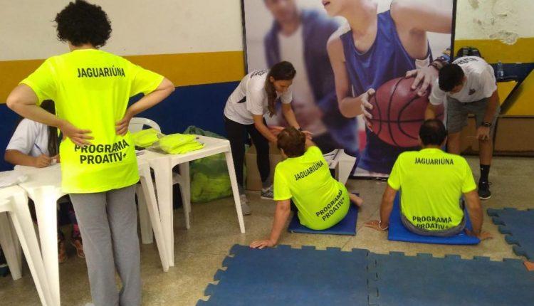 Prefeitura realiza avaliações físicas em mais de 800 alunos do ProAtiv+