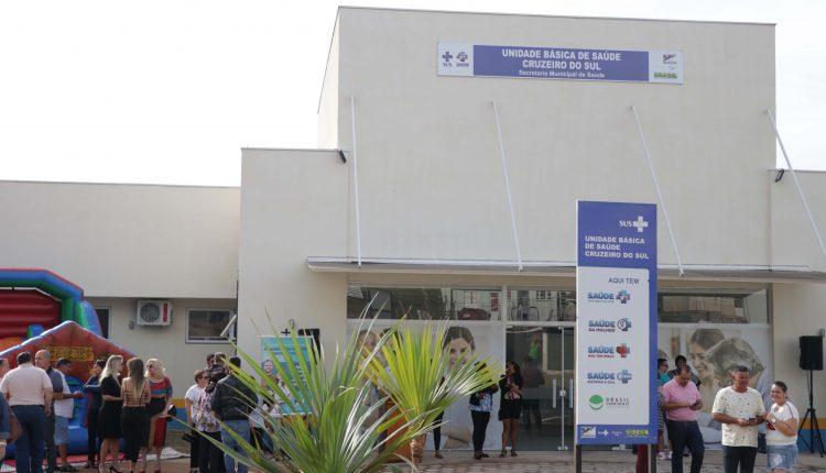Prefeitura entrega à população a quarta UBS implantada desde o ano passado