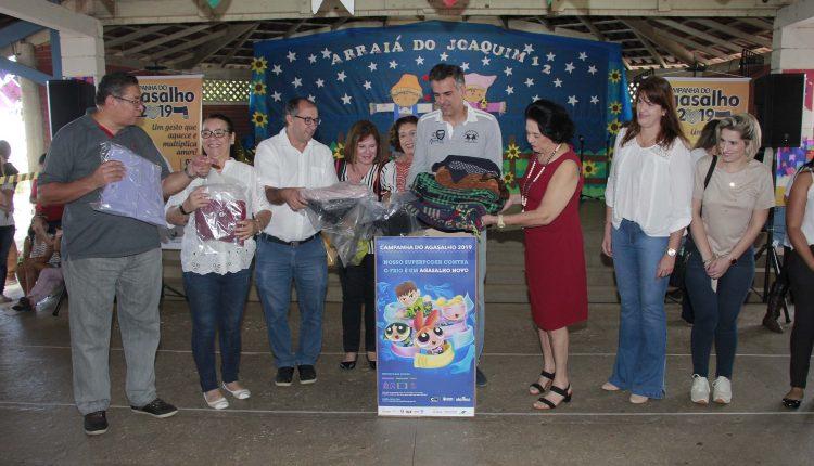 Fundo Social reforça pedido de colaboração na Campanha do Agasalho 2019