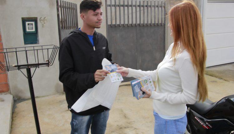 Campanha de Coleta Seletiva Porta a Porta chega em três novos bairros