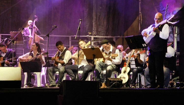 """Orquestra """"Violeiros e Violinos do Jaguary"""" se apresenta no Parque dos Lagos neste sábado"""