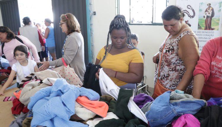 Jaguariúna  Solidária é realizado no Roseira de Cima.