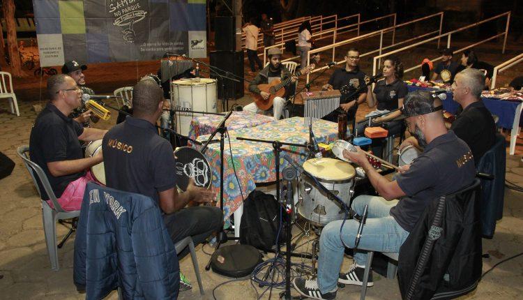 Samba no Parque promete agitar o Parque Santa Maria no domingo