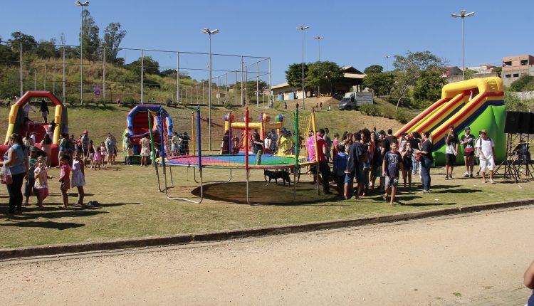 """Primeira edição do """"Brincando no Parque"""" agita a região do Florianópolis"""