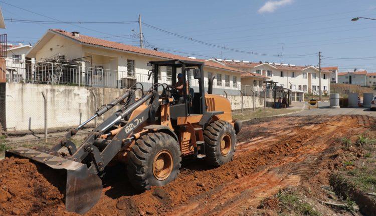Prefeitura de Jaguariúna inicia pavimentação da Estrada do Japonês