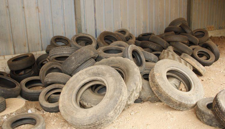 Prefeitura recolhe mais de 2 mil pneus para reciclagem