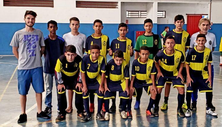 Futsal Sub-14 de Jaguariúna disputa neste domingo semifinal de campeonato regional