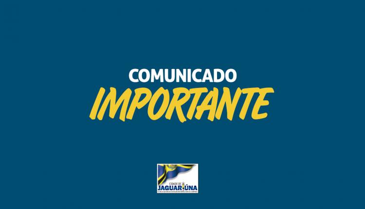 COMUNICADO – FECHAMENTO DE RUAS E AVENIDAS PARA FESTAS DO DIA DAS CRIANÇAS