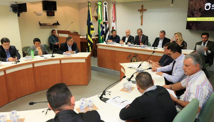 JAGUARIÚNA SEDIA REUNIÃO DO PARLAMENTO METROPOLITANO DA RMC