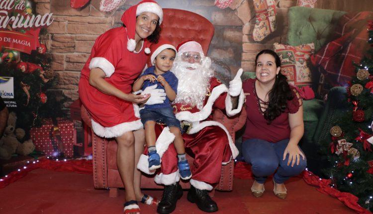 Programação de Natal de Jaguariúna será realizada no Centro da cidade